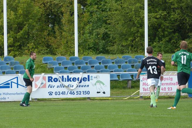 Niederlage im dritten Testspiel der Zweiten gegen den LFV Sachsen Leipzig