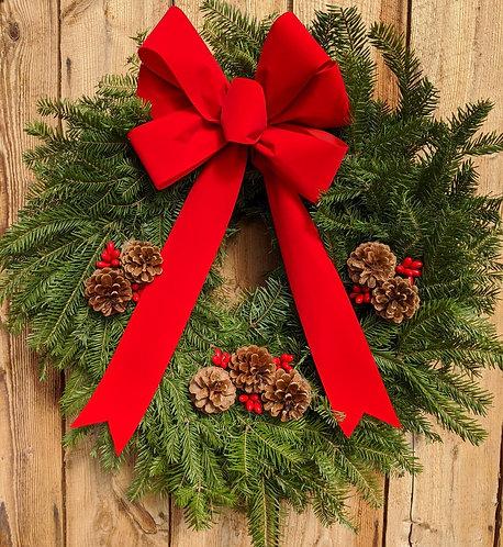 Vermont Traditional Wreath