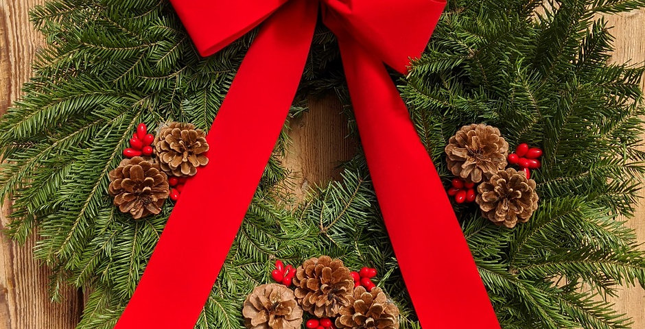 CBMS Fundraiser Vermont Traditional Wreath