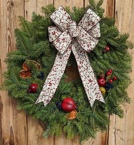 Della Robbia Winterberry Wreath