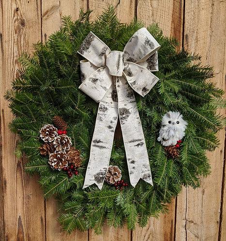 Vermont Woodland Wreath
