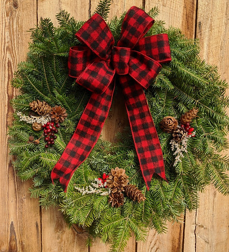 Vermont Country Wreath