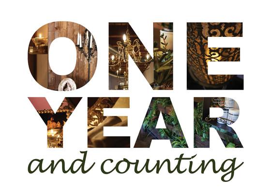 One Year Aniversary