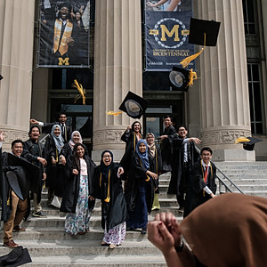 UMich Senior Graduation '17