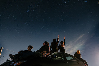 The stars aren't those beyond reach, but those we forget to cherish.