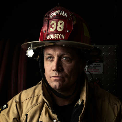 Josh - Houston Firefighter - Station 38 - Coleman Studios - Brad Coleman