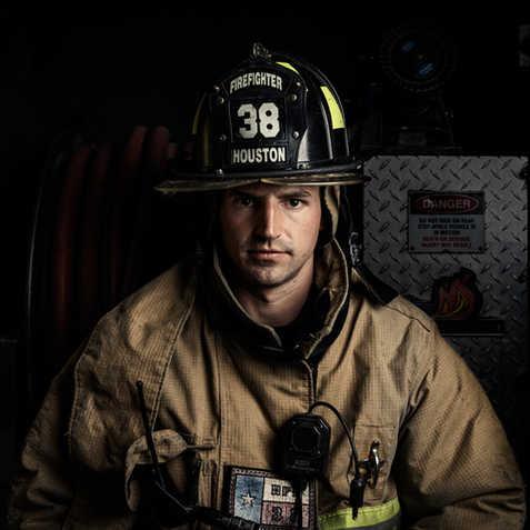 Philip - Houston Firefighter - Station 38 - Coleman Studios - Brad Coleman