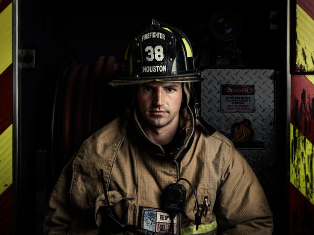 Philip - Houston Firefighter - Station 38 - Coleman Studios - Brad Coleman
