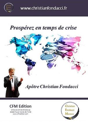 Prospérer en temps de crise