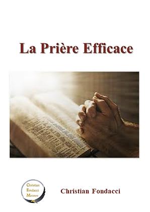 La prière efficace