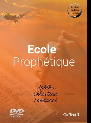 Ecole Prophétique :  coffret 2