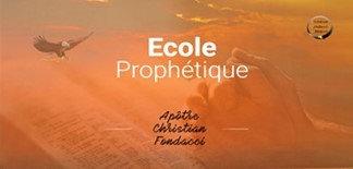 Ecole Prophétique : intégrale