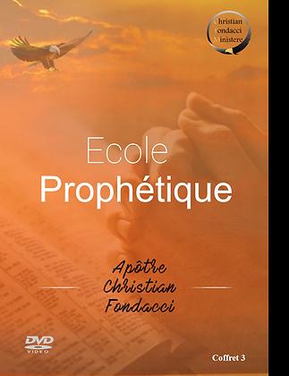 Ecole Prophétique :  coffret 3