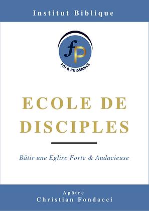 Ecole de disciples