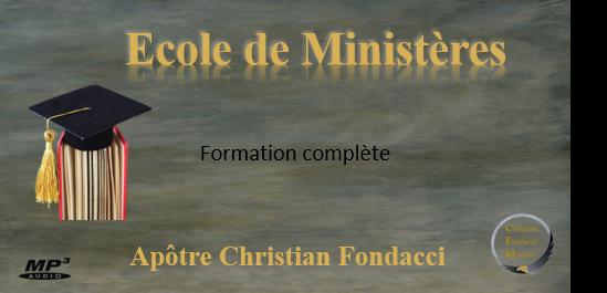 Ecole de ministères: Formation complète
