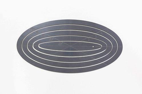 Medium Oval Template Set