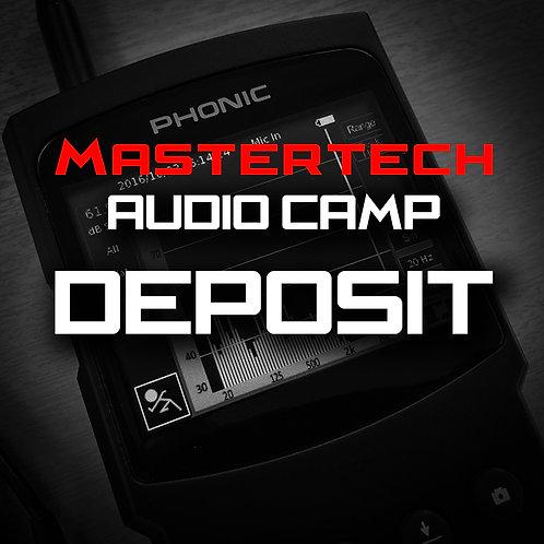 Deposit - MasterTech Audio Camp
