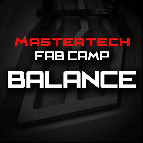 Balance- MasterTech Fab Camp