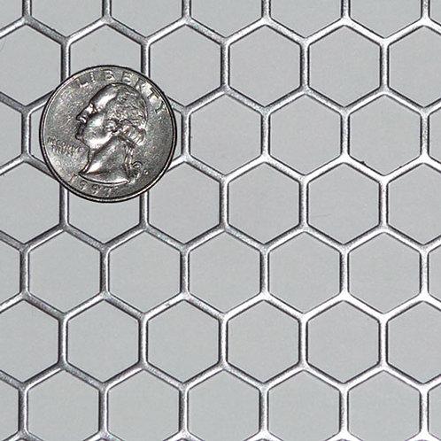 """Steel Mesh 1/2"""" Hexagon"""