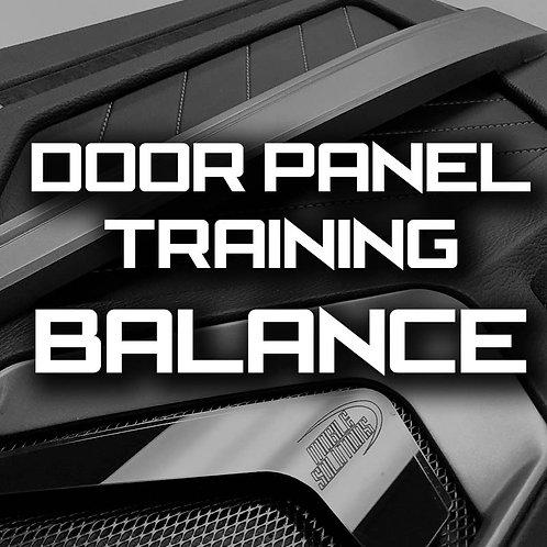 Balance - MasterTech Door Panel Training