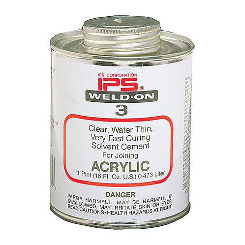IPS Weld-On #3 Clear, 4oz