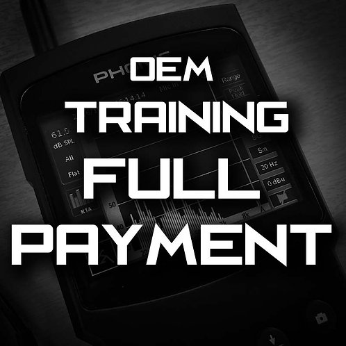 Full Payment - MasterTech OEM Training