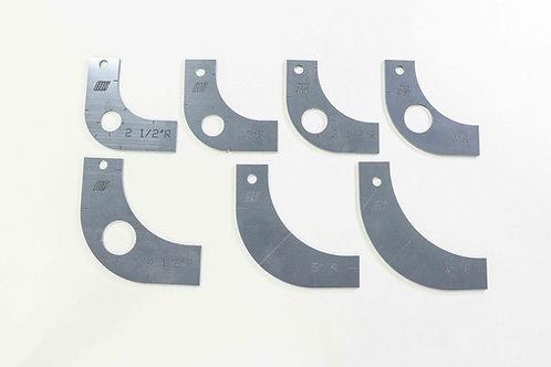 Large Radius Gauge Template Set