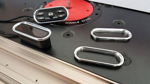 Pair of Escort 9500ci Aluminum Bezzels