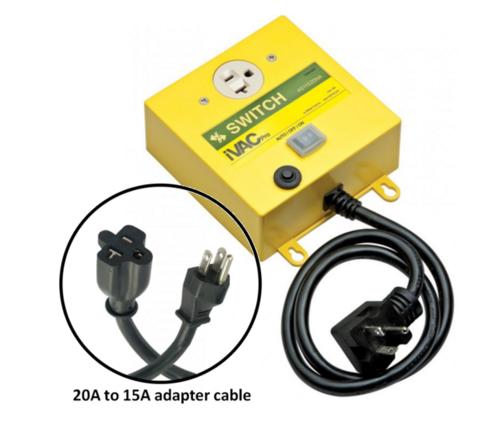 IVAC Pro Switch, 115VAC, 20A