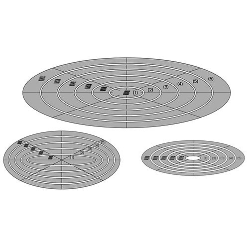 Combination Oval Template Set