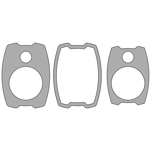 "6-1/2"" SUV Kick Panel Template Set"