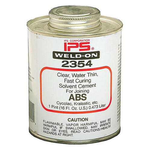 IPS Weld-On #2354(ABS) 16oz