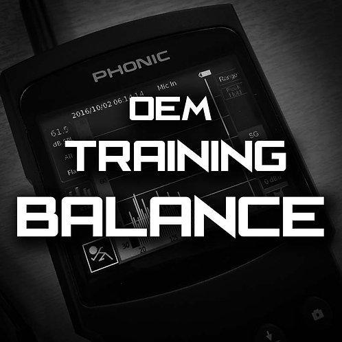 Balance- MasterTech OEM Training