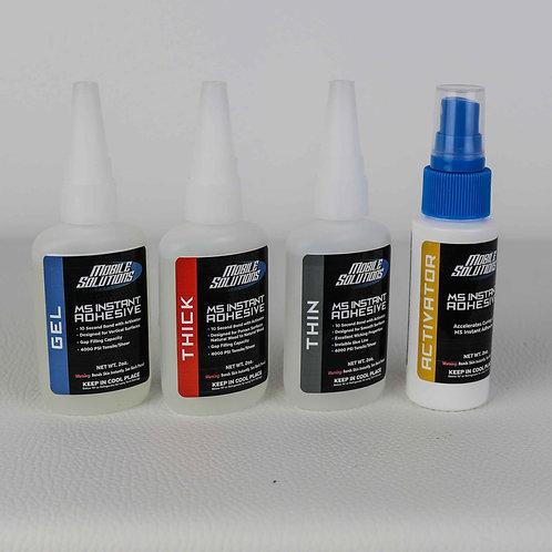 MS Instant Adhesive 2oz - Full Kit