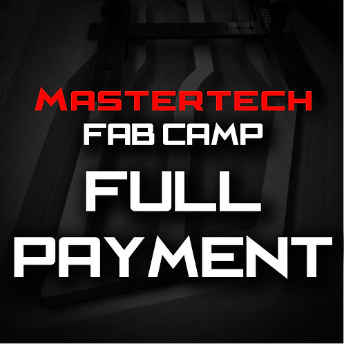 Full Payment - MasterTech Fab Camp