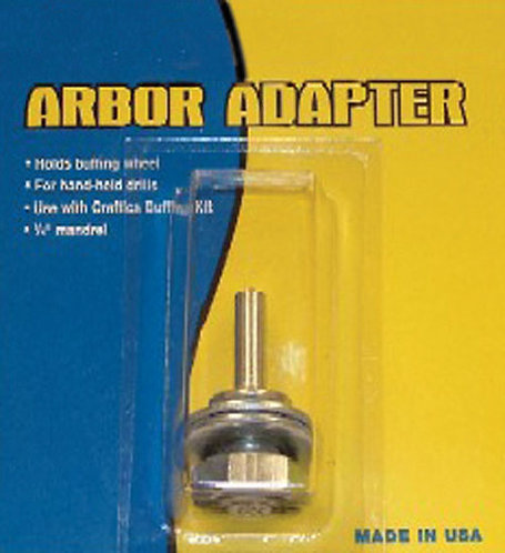 "1/4"" Shaft Buffer Arbor Adapter"