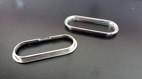 Escort 9500ci Aluminum Bezzel