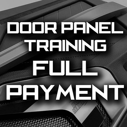 Full Payment - MasterTech Door Panel Training