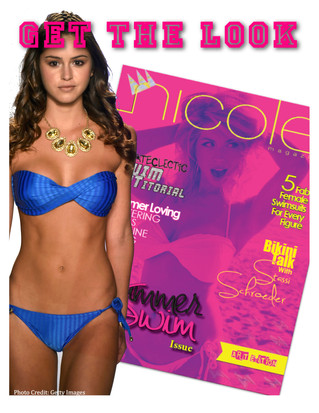 The Runway Model / Cover Girl Look - Mia Marcelle Swimwear