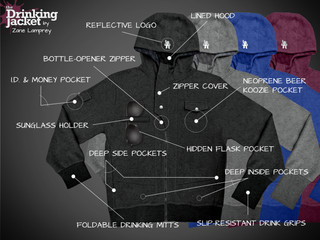 The Perfect Gift for the Guy in your Life: A Drinking Jacket!