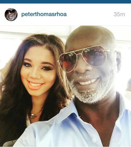 Selfie With Peter Thomas