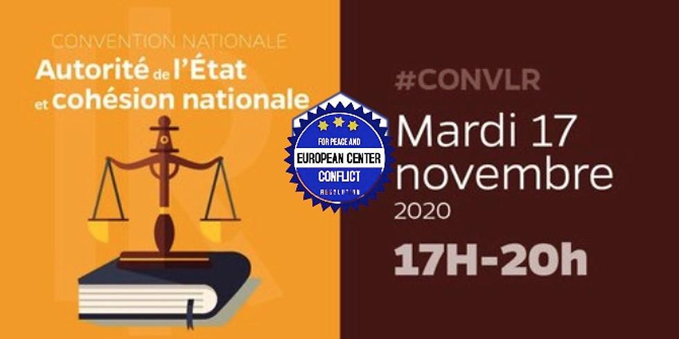 Convention autorité de l'État et cohésion nationale
