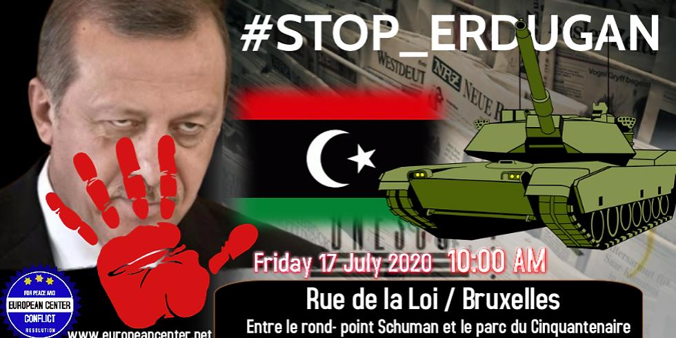 STOP à la guerre en Libye