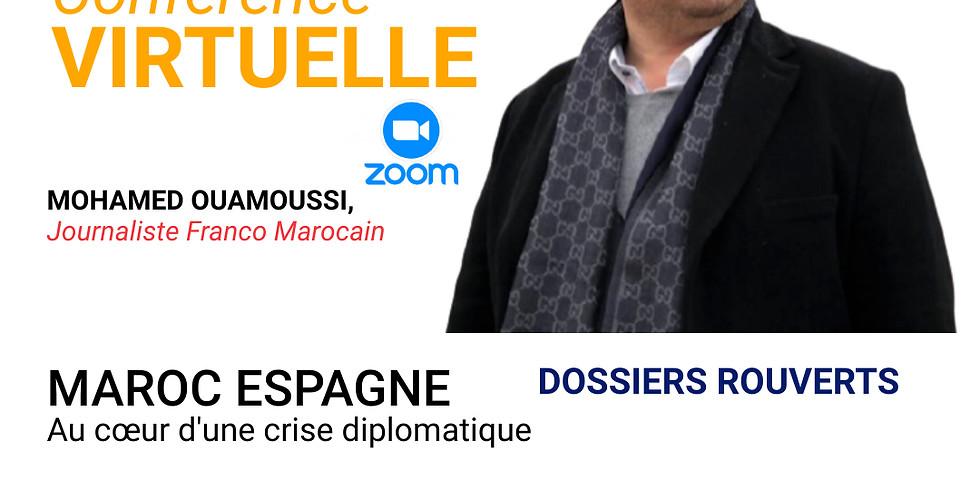 Maroc Espagne, Au cœur d'une crise diplomatique