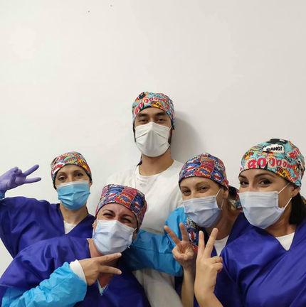 Doctor y auxiliares de GM Ortodoncia