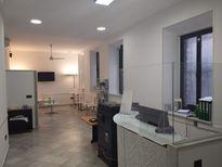 Sala de espera de la clínica de ortodoncia GM Ortodoncia