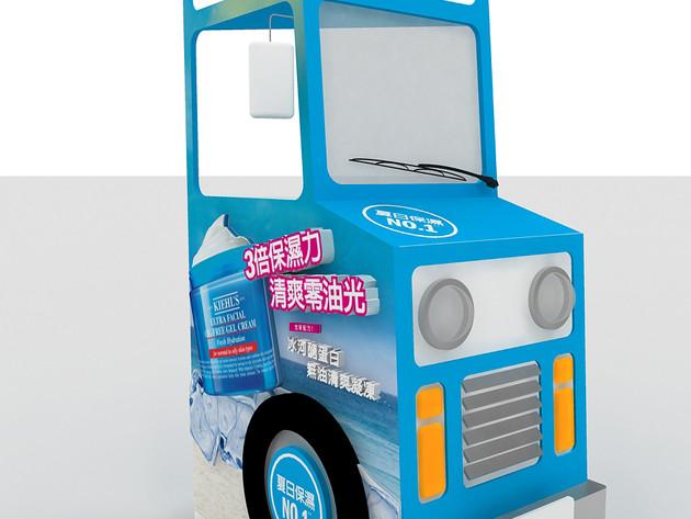 Kiehl's   冰淇淋車3D圖