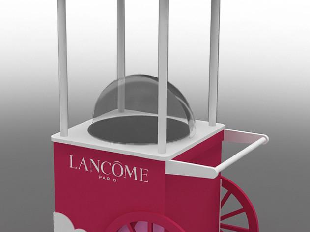 Lancome   棉花糖車3D圖
