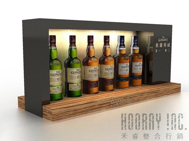 The Glenlivet   酒櫃設計