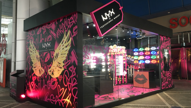 NYX   Popup Store